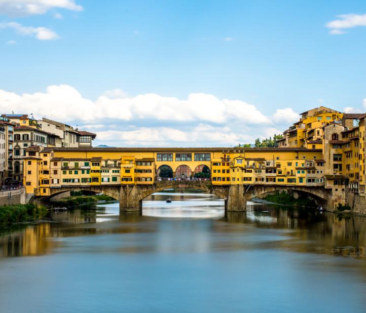 Bridge over Florence river.